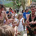 Ainsi va la Vis, un festival des <b>arts</b> de la <b>rue</b> au cœur du village