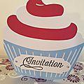 Des <b>invitations</b> d'anniversaire