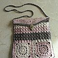 Un joli sac au <b>crochet</b>/ Bolso de ganchillo