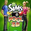 Une partie de <b>billard</b> avec Les Sims
