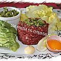 Steak tartare ( thermomix) à ma façon