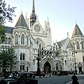 ARCHITECTURE - XIXe - <b>UK</b> - ROYAL COURTS OF JUSTICE - LONDRES