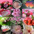 <b>Mosaïque</b> rose, fruit& flowers pour le plaisir