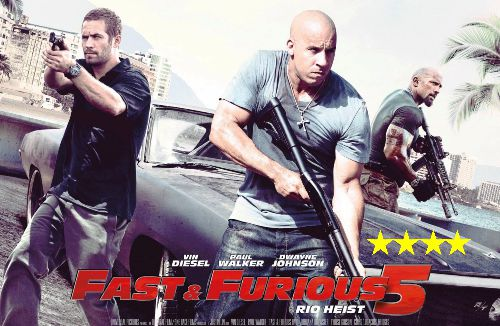Fast Five avec Paul Walker - Vin Diesel et The Rock
