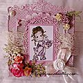 Carte magnolia pour Paradise of <b>Stamps</b>
