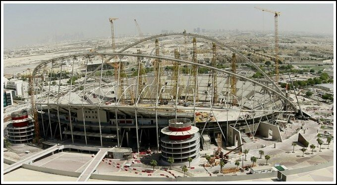 Qatar Khalifa international stadium