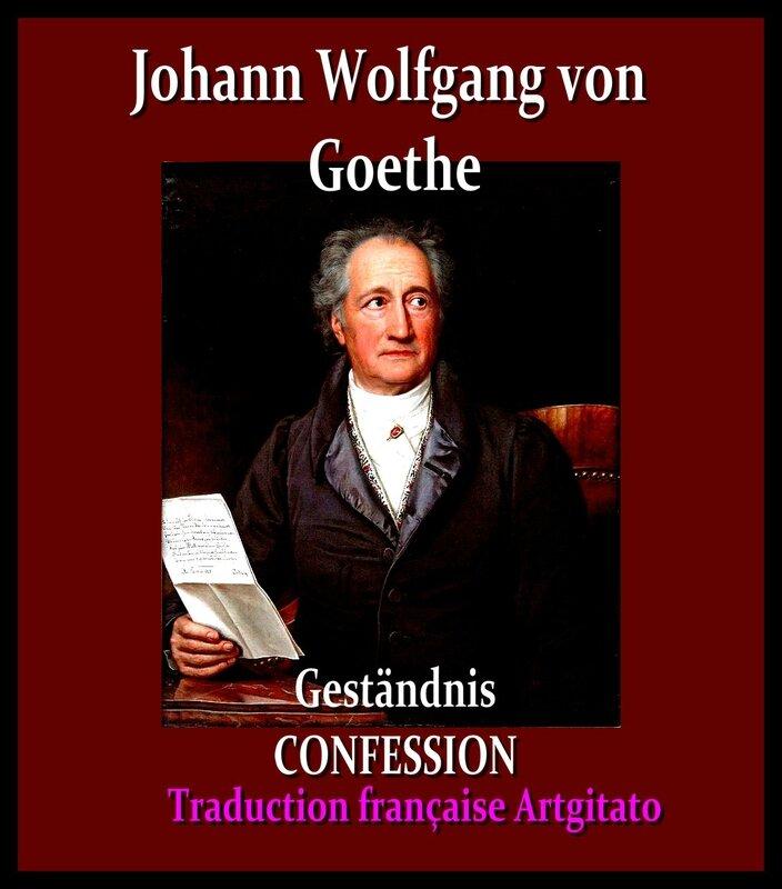 Goethe Stieler 1828 Confessions Le Livre du chanteur Traduction Artgitato Française