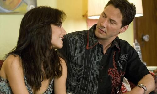 Martha Higareda & Keanu Reeves