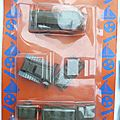 BLISTER VEHICULES MILITAIRES MARQUE NOREDA