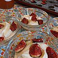 <b>FROMAGE</b> <b>BLANC</b> & FIGUES ROTIES DE MIMI
