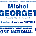 Blog de campagne de Michel Georget.