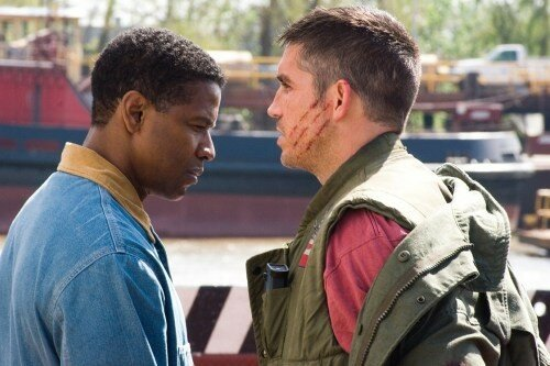 Denzel Washington & Jim Caviezel