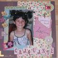 Les créations scrap de Fabienne