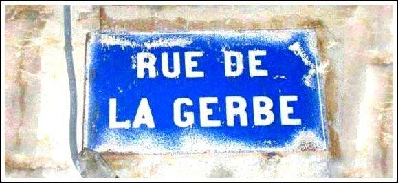 Rue de la Gerbe