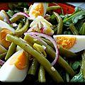 Petite salade légère d'été