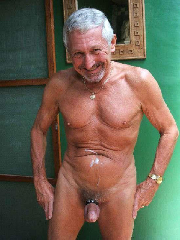 Vieux hommes gais nus