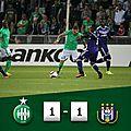 Les buts Saint-Étienne (ASSE) - Anderlecht (1-1) - Europa League