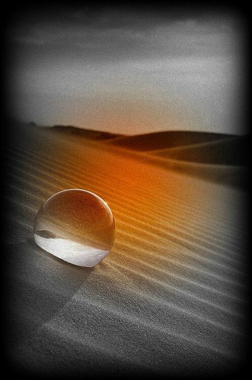 Desert-Goutte