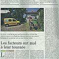 Service public en milieu rural: quand les <b>facteurs</b> de La Poste sont victimes des restructurations... (article La Terre)