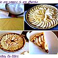<b>Tarte</b> pomme abricot