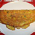 Omelette aux <b>chips</b>