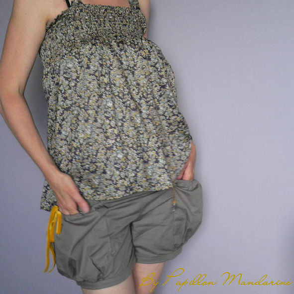 Tuto short bouffant / Tutorial short