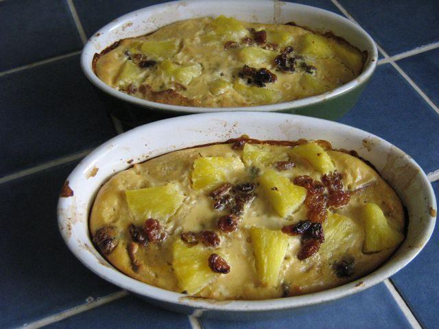 Dessert r gime a l 39 ananas et raisins secs recette for Regime ananas