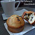 Muffins aux pépites de chocolat ;)