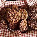Muffin au potimarron <b>banane</b> et flocon d 'avoine