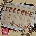 <b>home</b> <b>deco</b> Welcome et Iris Folding
