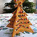 Sapin de <b>Noël</b> en biscuit sans oeufs
