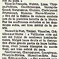 1921 08 Juin : Attribution de la Croix de Guerre aux communes