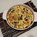 Quiche aux courgettes et tofu soyeux