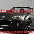 MAZDA MX 5, <b>covering</b> auto lyon, <b>covering</b> auto lyon <b>noir</b> <b>mat</b> Total <b>covering</b> <b>noir</b> <b>mat</b>, peinture <b>covering</b> <b>noir</b> <b>mat</b>, <b>covering</b> <b>jante</b>