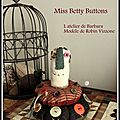 Miss Betty Button et salons à venir !!!