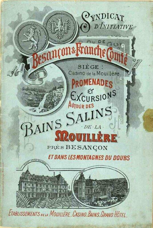 article Guy publicité pour bains Mouillère