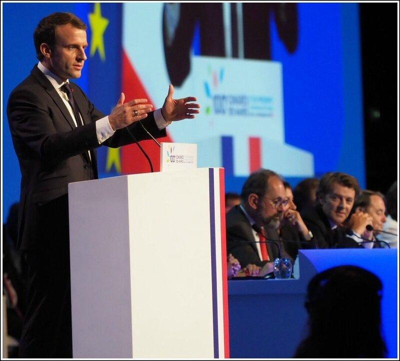 Macron Congrès des maires