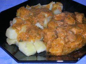 recettes plats  Sauté de porc au thermomix