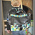 Petit cartable <b>Danaé</b>...