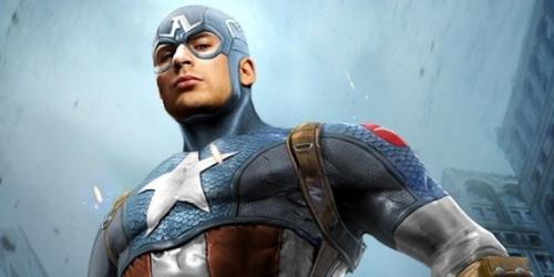 Chris Evans est le Captaine America