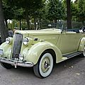PACKARD Model 120 coupé <b>cabriolet</b> 1936