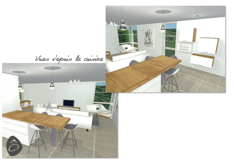 3d salon for Futur interieur