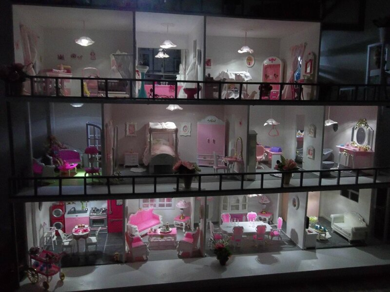 maison barbie faire soi meme. Black Bedroom Furniture Sets. Home Design Ideas
