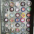 Magnets capsules de bière