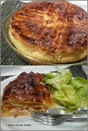 recettes  Tourte Ardennaise