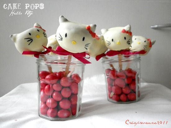 ba7e272ee How to... make Hello Kitty Cake Pops - Red Ted Art
