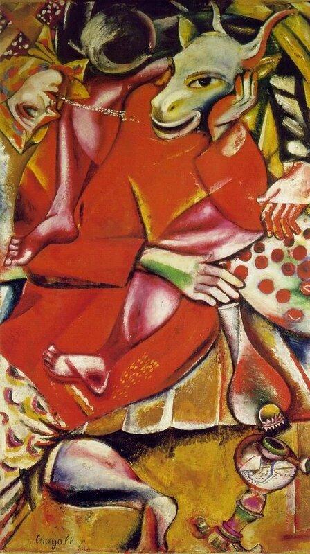 Chagall 1911ToMyBetrothedMarcChagall