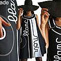La Robe <b>Trapèze</b> annonce ses couleurs ... Noir et Blanc tout simplement !