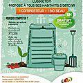 Composteurs gratuits pour tous !