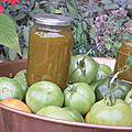 Marmelade améthyste de tomates vertes des Jardins de Kervelly... Et de la difficulté du métier de maraîcher.